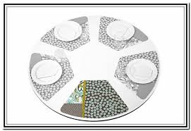 placemats for round table placemats for round table pattern the baron kitchen ideas placemats