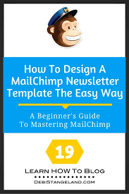 19 how to design a mailchimp newsletter template the easy way
