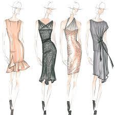 dress sketches gallery fashion design singapore