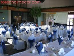 chic silver and blue wedding decorations decoration silver and