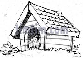house drawings free drawing of a house sketch from the category pets