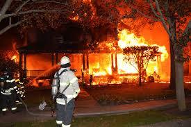 early morning blaze destroys rvc home herald community