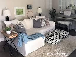 Sofa Table In Living Room Diy Sofa Table Tutorial Joyful Derivatives