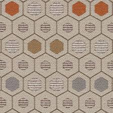 upholstery fabric geometric pattern polyester cotton