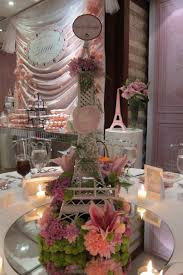 eiffel tower centerpieces sweet thoughts and an eiffel tower of flowers decor to adore