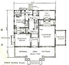 Practical Magic House Floor Plan The Notebook House Sears Modern Homes