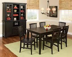 Corner Dining Room Hutch Furniture Dark Black Dining Room Hutch For Modern Dining Room