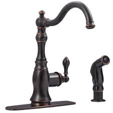 antique bronze kitchen faucets ultra faucets uf11245 signature collection single handle kitchen