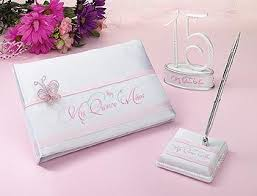 quinceanera guest book sweet 15 decorations sweet 15 guest book quinceanera cake top