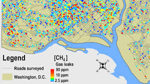 Dc World Map by About 6 000 Natural Gas Leaks Found In D C U0027s Aging Pipes Npr