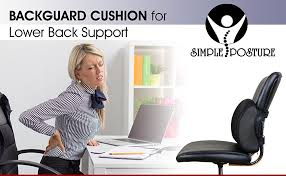 Chairs For Posture Support Amazon Com Simpleposture Lower Back Pain Cushion Specially