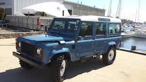 land rover defender 4 door interior 1987 land rover defender 110 300tdi phoenix az 31 000