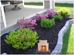 Inexpensive Backyard Ideas by Easy Landscaping Ideas For Front Of House Front Yard Landscaping