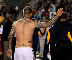 neymar u0027s new tattoo is straight out of david beckham u0027s playbook