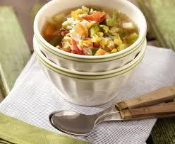 cuisine au blender soupe minestrone au riz au blender recette de soupe minestrone