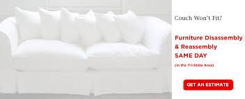 Disassemble Sofa Bed Sofa Disassembly Nyc Sofa Reassembly Take Apart A Sofa Large