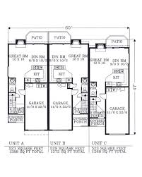 image collection triplex house plans all can download all guide