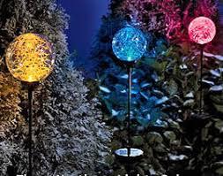 Solar Powered Landscaping Lights Replace A Broken Glass Globe On A Solar Powered Garden Light