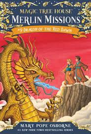 dragon of the red dawn magic tree house r merlin mission