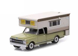 chevy motorhome amazon com 1969 chevrolet c10 cheyenne with large camper hobby