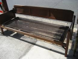 the antique polishers silky oak day bed c1920