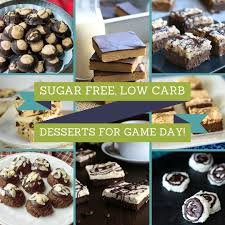 21 sugar free low carb finger food desserts for game day
