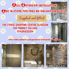 glitter wallpaper parkhead forge wet wall panels 2go home facebook