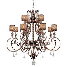 12 Light Chandeliers Minka Lavery Aston Court 12 Light Bronze Chandelier 4758 206 The
