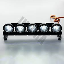 jeep tamiya multi function bright 5 led light bar for rc crawler axial scx10