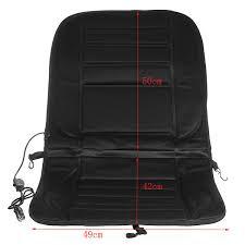 car van auto heated padded pad seat cushion cover warmer 12v