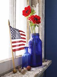 15 red white and blue decorations