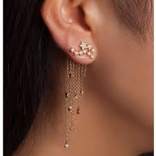 earring pierced 30 beautiful constellation and astronomy ear piercings from cuffs