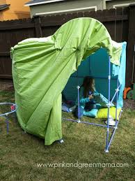 pink and green mama a fort building kit for kids fort magic