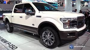 Ford F150 Truck Colors - 2018 ford f 150 king ranch exterior and interior walkaround