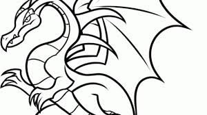 easy dragon drawings spee draw ba fire dragon dragonvale