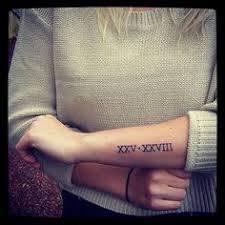 70 roman numeral tattoos ink lovers will drool over roman