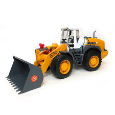 bruder toys 16th liebherr l574 road wheel loader by bruder plastic