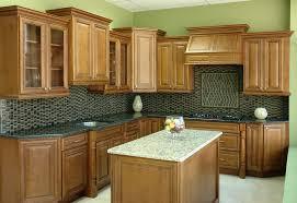 Unfinished Birch Kitchen Cabinets Furniture Simple Birch Kitchen Cabinets With Marble Table And