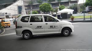 toyota van philippines metro manila cab taxi