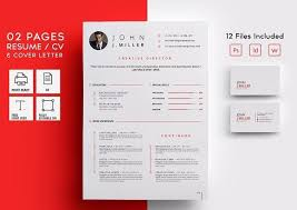 letterhead templates for pages professional letterhead format 02 pages resume cv by codepower on