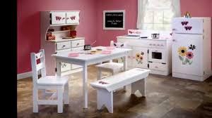 amish handmade kitchen play set furniture youtube