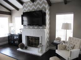fireplace decor ideas awesome white brick fireplace decorating ideas nice fireplaces