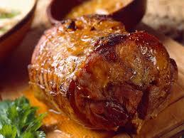 cuisiner roti de porc rôti de porc caramélisé au citron recettes femme actuelle