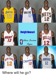 Dwight Howard Memes - dakers hea 12 12 dallas dwight howard where decisions 12 nets 12