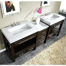 overstock bathroom vanities water creation inch solid white double