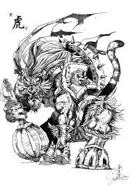 zodiac tiger by cubitsakit on deviantart