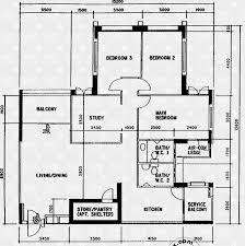 Residences Evelyn Floor Plan 627 Jurong West Street 65 S 640627 Hdb Details Srx Property