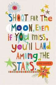 accredited shoot for the moon even if you miss