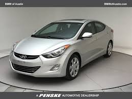hyundai elantra 2013 used hyundai elantra 4dr sedan automatic limited at bmw of