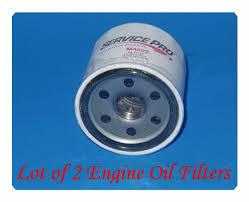 2 x m4622 engine oil filter service pro for chrysler ford mazda